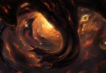 Flamme noire dragon