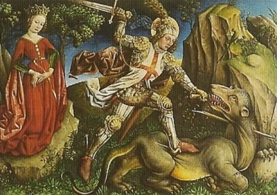 St-Geirges terrassant le dragon