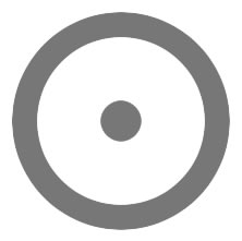 Cercle autour d'un point, symbolisme et signification ésotérique