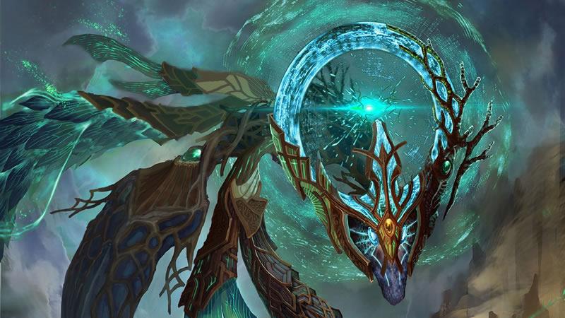 Dragons en attente d'être libérés et le dragon intérieur