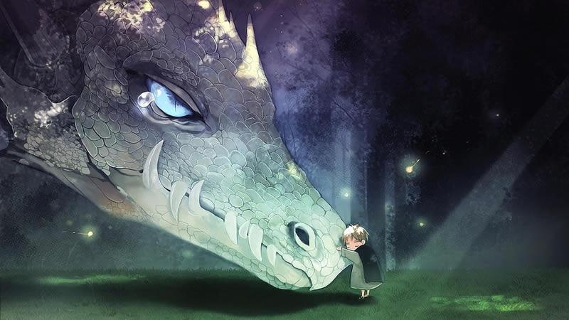 Le don des larmes par les Serpents Solaires des Kumara