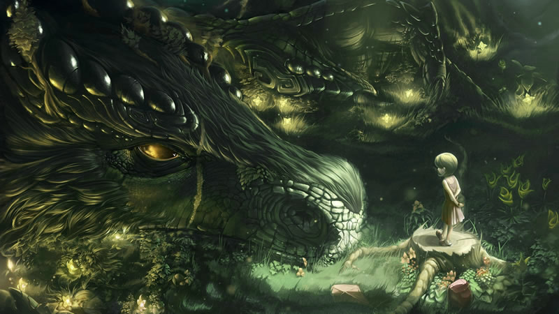 Crâne de dragon pour se relier à un esprit dragon