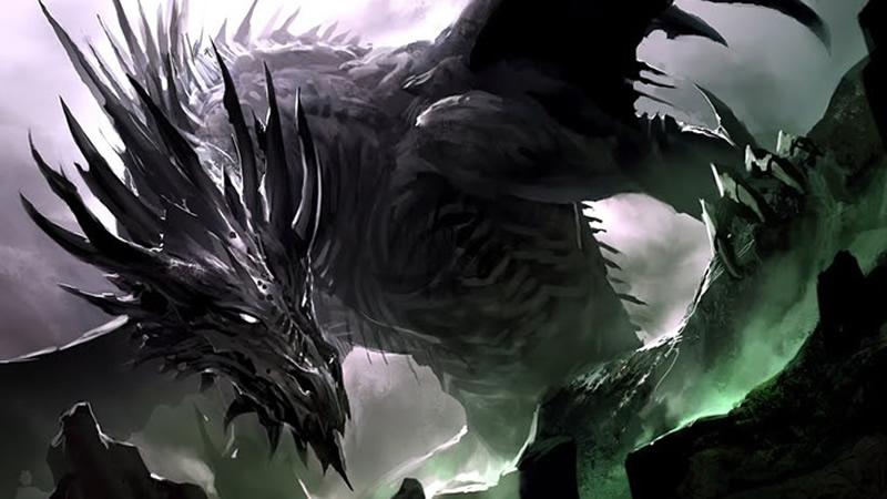 Les dragons très noirs en rédemption