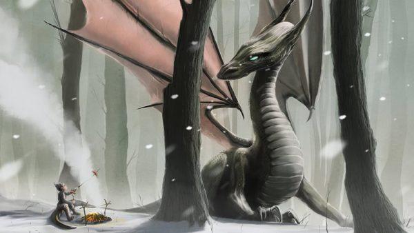 Le réveil et l'émergence des dragons de l'intraterre